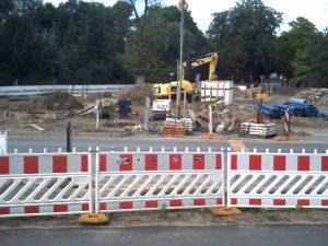 Baustelle Wiltbergstrasse