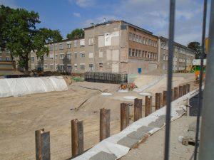 Baugrube Kaethe-Beutler-Haus